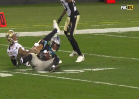 D.J. Moore outmuscles double coverage for huge 44-YD catch