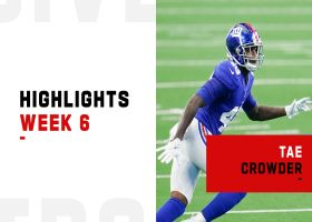 Tae Crowder's best plays vs. Washington | Week 6