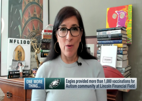 Battista: Eagles helped provide more than 1,000 vaccinations for Autism community