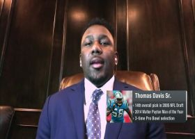 Thomas Davis Sr. assigns 2021 draft grades for his former teams