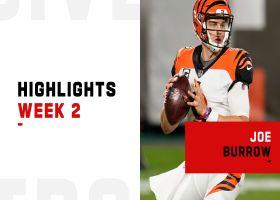 Joe Burrow's best plays from prime-time debut | Week 2