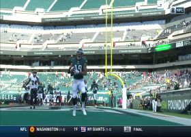 Eagles stay alive with second successful two-point conversion