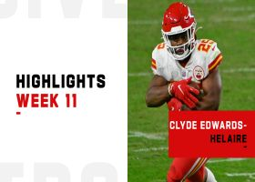 Clyde Edwards-Helaire's best plays from win in Las Vegas | Week 11