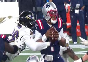 Matthew Judon pushes Patriots out of FG range with huge sack