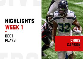 Chris Carson's best plays from 2-TD game | Week 1