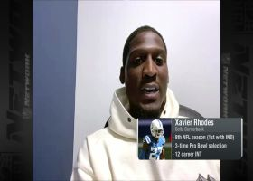 Xavier Rhodes reacts to having highest PFF grade of Week 3