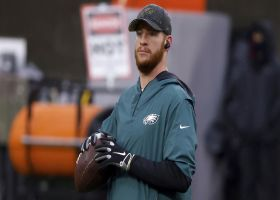 Warner dishes on idea of benching Carson Wentz to send message