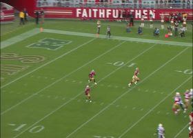 D.J. Reed shakes off tackles on 56-yard kick return