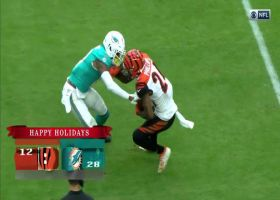Darius Phillips wins 50-50 pass vs. DeVante Parker for jump-ball INT