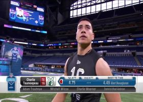 Charlie Taumoepeau runs official 4.75 second 40-yard dash at 2020 combine