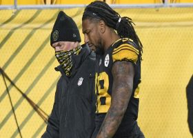 Bud Dupree heads to the locker room with apparent leg injury