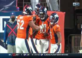 Jerry Jeudy juggles two-point conversion to give Broncos a pair of points