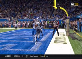 Driskel evades pressure and finds Marvin Jones for TD