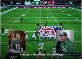Quinnen Williams vs. Calvin Ridley | 'Madden NFL 22' Game before the Game