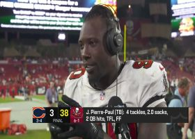Jason Pierre-Paul discusses Bucs' cohesion in win over Bears