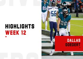 Every catch by Dallas Goedert in prime time | Week 12