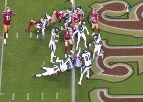 Jerick McKinnon charges in for late 49ers touchdown