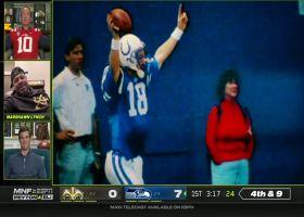 Peyton Manning, Marshawn Lynch talk about