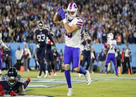 Josh Allen locates Tommy Sweeney in back of end-zone for first career TD