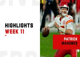 Patrick Mahomes' best throws on 'Sunday Night Football' | Week 11