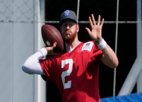 McGinest: 'No more excuses' for Carson Wentz in Indianapolis