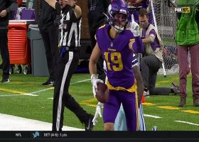 Cousins lofts it to WIDE-open Thielen for 51 yards