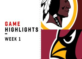 Redskins vs. Cardinals highlights | Week 1