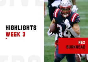 Rex Burkhead's best plays from 3-TD game | Week 3
