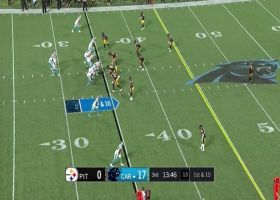 Tommy Tremble somehow secures bobbling 24-yard grab