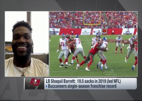 Shaq Barrett teases update on franchise tag for Friday
