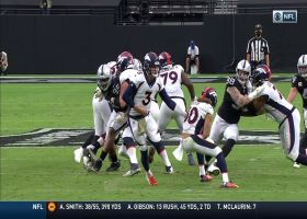 Maxx Crosby plows into backfield for massive tackle for loss
