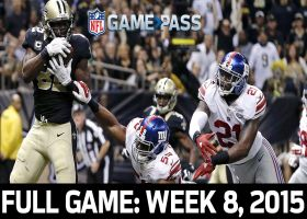 Full NFL Game: Saints vs. Giants - Week 8, 2015 | NFL Game Pass