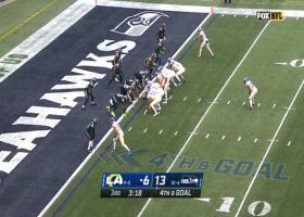 Seahawks complete epic four-down goal-line stand with TFL