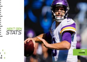 Next Gen Stats: Kirk Cousins' 5 most improbable completions | Week 6