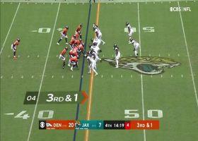 Jaguars defenders swarm Broncos for big third down stop