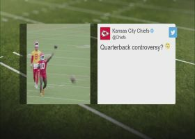 Tyreek Hill shows QB skills with net toss at Chiefs training camp