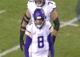 Kirk Cousins is AMPED after Kyle Rudolph's long catch and run