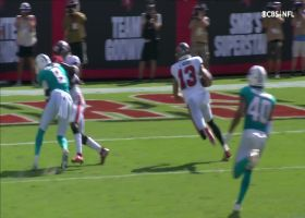 Mike Evans is untouched on second TD of the day