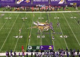 Cousins finds Rudolph in middle of field to set up FG