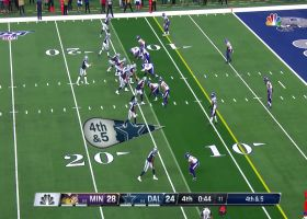 Kendricks breaks up fourth-down pass for turnover in final minute