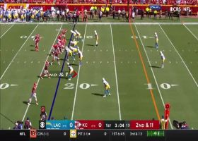 Tevaughn Campbell forces Tyreek Hill fumble, Mike Davis scoops up fumble for return