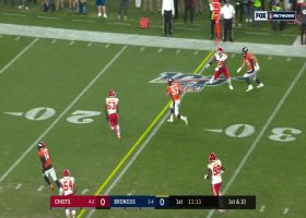 Janovich finds a gap in Chiefs defense for 22-yard catch and run