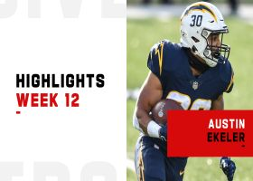 Every touch by Austin Ekeler in his return to action | Week 12