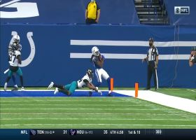 Rivers pinpoints T.Y. Hilton for toe-tapping two-point conversion