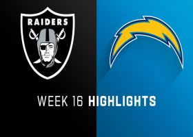 Raiders vs. Chargers highlights | Week 16