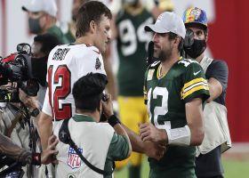 Kyle Brandt breaks down Tom Brady's postgame handshake history