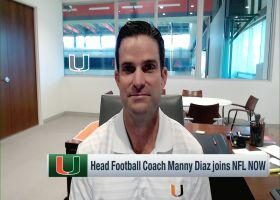 Manny Diaz explains how Gregory Rousseau earned 'Groot' nickname