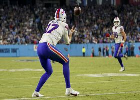 'It's a Buffalo special' MNF crew loves Bills' two-point trick play throw to Josh Allen