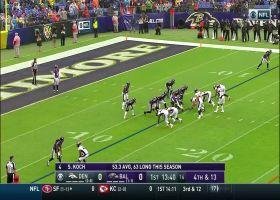360-degree view of Denver Broncos linebacker Joe Jones blocked punt vs. Baltimore Ravens | True View