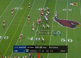 Brandin Cooks' sick sideline juke turns into 28-yard gain